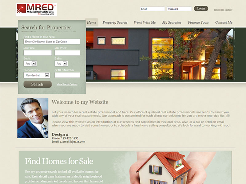 real estate agent templates